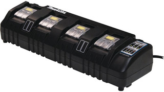 18V Lithium-In Rapid Optimum 4-Port Charger, No. DC18SF