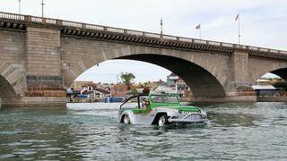 $100,000 amphibious vehicle makes debut