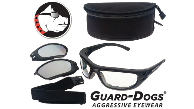 Guard-Dogs G100 Convertible Eyewear and Goggle Kit