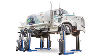 MAHA USA introduces new generation of MCL Series Mobile Column Lifts