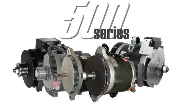 500 Series family of alternators