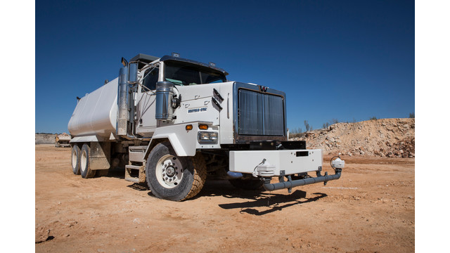 Western Star and Klein Products develop high-capacity water tank truck