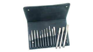 150 Line-14-piece Punch and Chisel Set, No. 15070