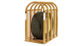 5-bar Super Magnum Tire Cage, No. 36010