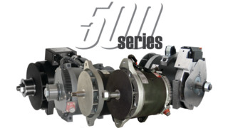 500 Series family of alternators