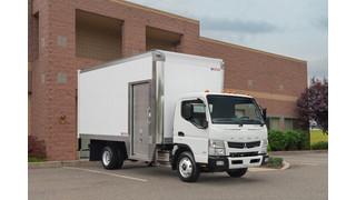 Mitsubishi Fuso truck now offers Morgan Maximizer Body on Canter LCOE work trucks