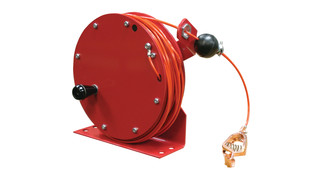 Hand Crank Static Discharge Reel, No. GHC3100 N