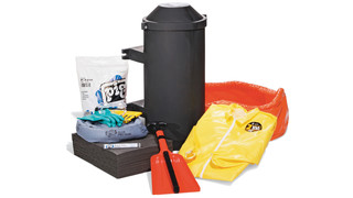 PIG Spill Kit in Truck-Mount Container