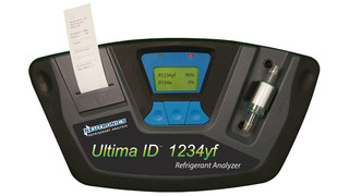 Neutronics refrigerant analysis receives SAE J2912 approval for portable, dual R1234yf and R134a analyzer
