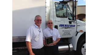 Eaton vehicle group named Supplier of the Year by Idealease