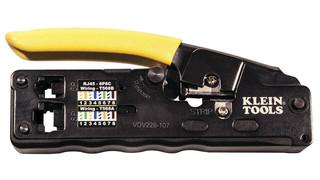 VDV Compact Ratcheting Modular Crimper, No. VDV226-107