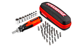 Powerbuilt Folding Quick T T-handle Driver and Universal Socket Sets