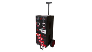 Tower Of Power Wheeled Charger