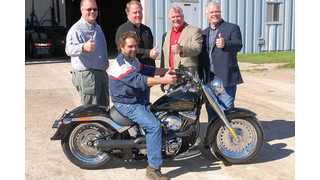 Kit Masters gives away Harley Davidson