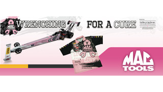 Mac Tools partners with Kalitta Motorsports to fight breast cancer
