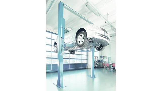 SPL 10000 Hydraulic Asymmetric Two-Post Lift