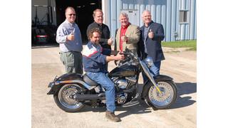 Kit Masters gives away Harley Davidson