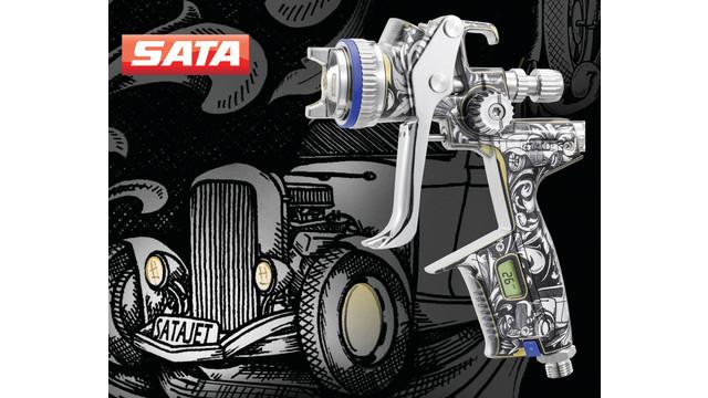 Special edition spray gun SATAjet 4000 B Carl Avery Edition
