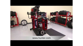 Hunter Revolution Tire Changer Video