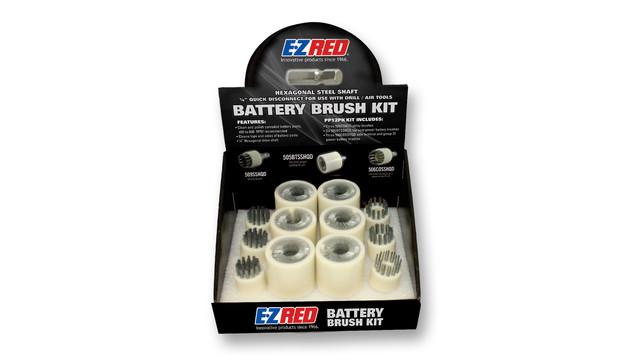 In Focus: E-Z Red PP12PK Battery/Utility Brush Kit