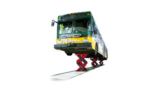 Stertil-Koni awarded second patent for shallow pit heavy duty scissor lift: ECOLIFT