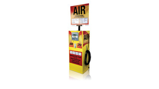 AutoFill C1000 digital coin-operated air inflation system