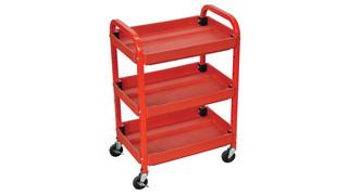 Utility Cart Three Shelf Adjustable No. ATC332