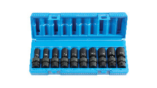 3/8 Drive Semi-Deep Universal Impact Sockets
