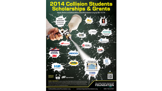 Over $200,000 in scholarships and grants available to collision students this spring