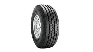 All-Position Steer Radial Tire, No. R244