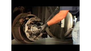SKF proper torque for a ConMet PreSet hub video