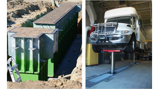Building from the bottom up: Stertil-Koni's in-ground vehicle lift design adds strength