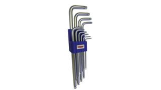 10-pc Long Ball Torx Key Wrench Set, No. BLTX100