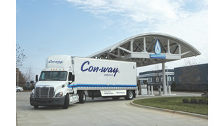 Con-way Freight expands Freightliner natural gas-powered tractors in its fleet