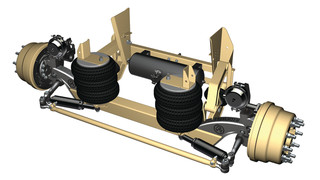 Steerable Auxiliary Lift Axle Suspension System, No. RSS-233