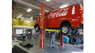 Coca-Cola service vans going hybrid electric