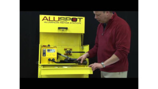 Dent Fix Aluspot Deluxe Aluminum Repair Station Video
