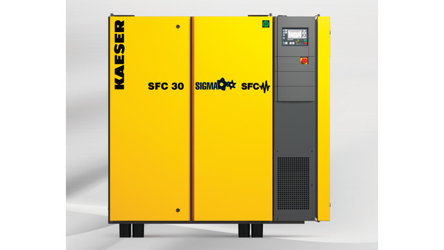 SFC 30S and SFC 30 rotary screw compressors