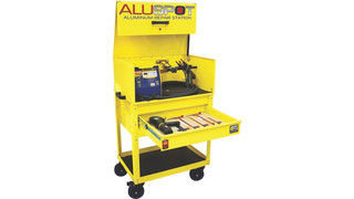 Aluspot Deluxe Aluminum Repair Station, No. DF-900DX