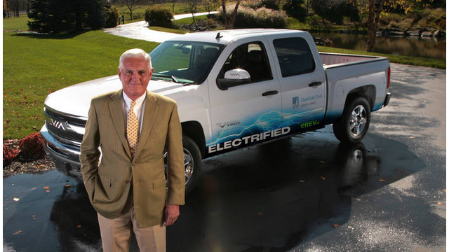 Bob Lutz appointed chairman of VIA Motors