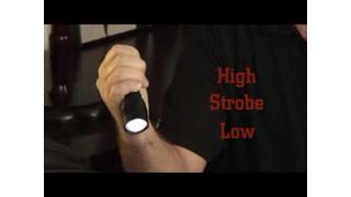 Streamlight ProTac HL Flashlight ten-tap programming Video