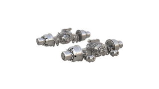 P600 Series Heavy-Haul Planetary Axles, Nos. P610 and P614