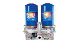 Separator Filter Dryer for pneumatic tools and devices