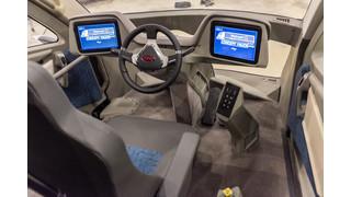 Walmart debuts futuristic truck at MATS
