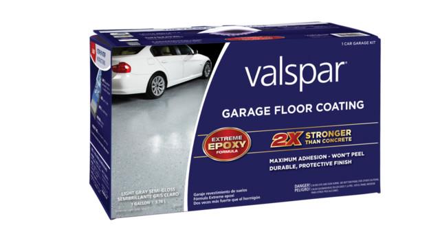 Valspar epoxy coatings renews shop floors