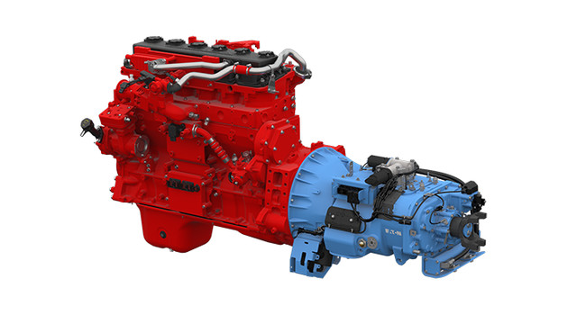Eaton and Cummins Westport announce first automated transmission with spark-ignited natural gas engine