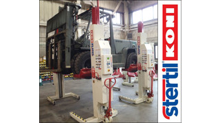 Stertil-Koni reports surge in forklift adapter demand