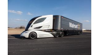Walmart unveils the WAVE concept fuel-efficient rig