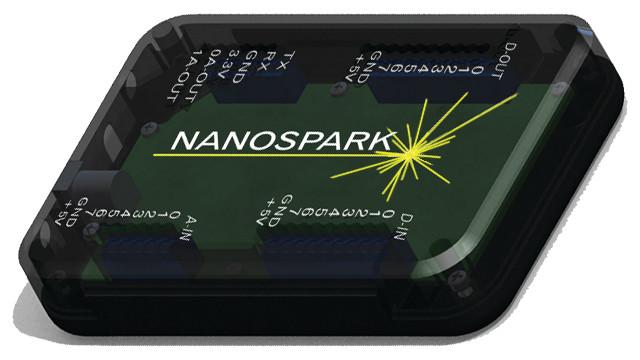 Senasys Nanospark Controller and Smartphone App