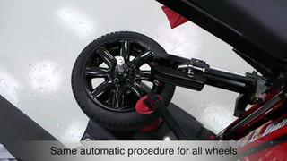 Hunter TCR1 Revolution Tire Changer Video